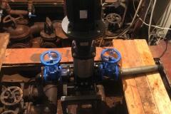Замена мотора нагоняющего давление