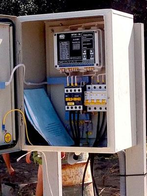 Ремонт электрики скважины